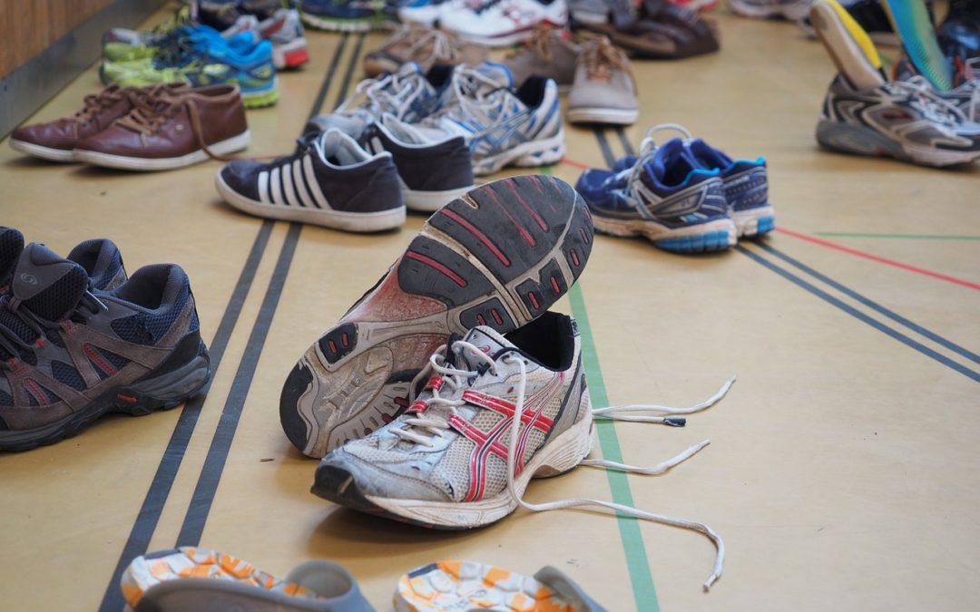 Les chaussures de badminton